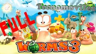 Worms 3 para Android [PRO]