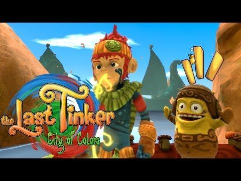 The Last Tinker: City Of Colors - Biggs The Awesome Mushroom!!!