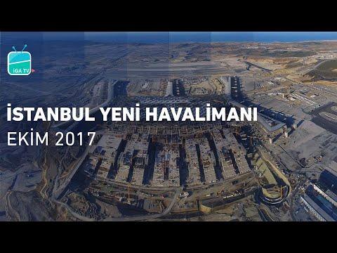 İstanbul Yeni Havalimanı Ekim 2017 | İstanbul New Airport October 2017