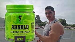 Arnold Iron Pump Pre-Workout Video Review (Back & Biceps Routine)