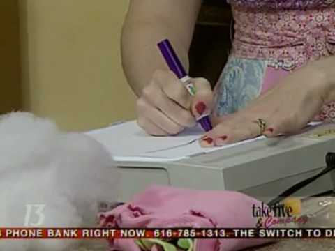CraftSanity on TV: Making stuffed toys out of childrens  drawings