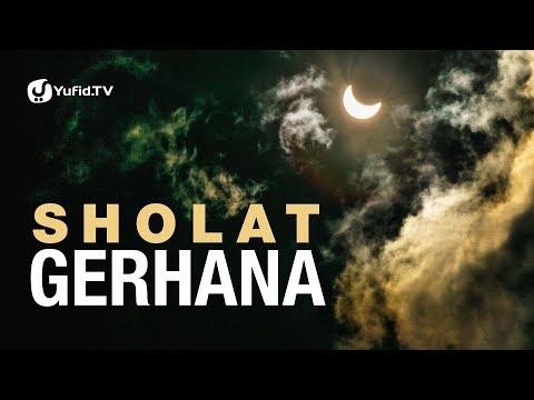 Sholat Gerhana - Poster Dakwah Yufid TV