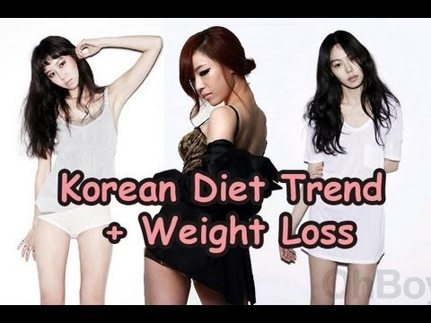 Korean Diet Trend and Weight Loss - YouTube