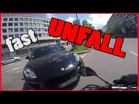 Fast Unfall | Einfach über Rot gefahren | #4erChickenNuggetChallenge | MotoVlog