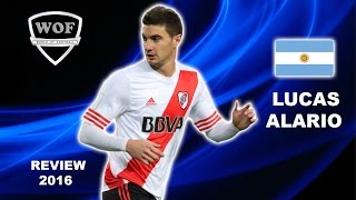 LUCAS ALARIO | River Plate | Goals, Skills, Assists | 2016 (HD)