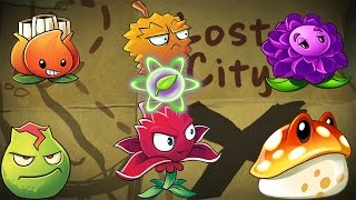 Plants vs. Zombies 2 - Lost City All Plants Power up