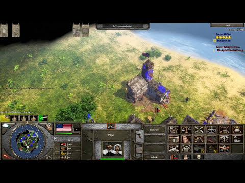 Age of Empires 3 The Napoleonic Era Americans HD First Glance (Part 1 / 3)