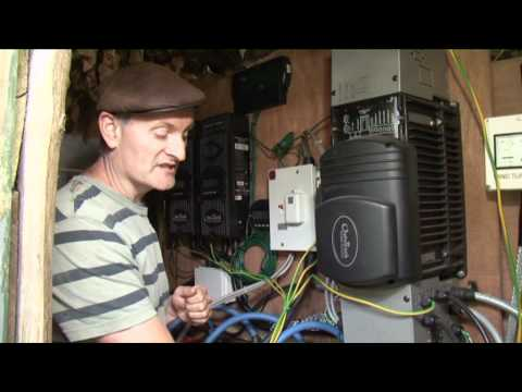 12V Off Grid power in Woodland House