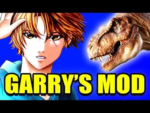 Gmod EPIC JURASSIC PARK Lost World Dinosaur Adventure Mod! (Garry's Mod)
