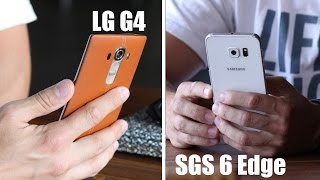 Что выбрать LG G4 или Samsung Galaxy S6 Edge?