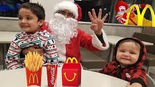 McDonalds Drive Thru Prank!  || Santa's surprise visit to Jai Bista Show