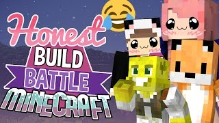 Cat Burgers! | Honest Build Battle Challenge | Minecraft Building Minigame