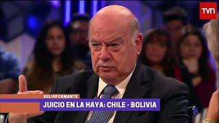 [HD] TVN Chile, El Informante: Insulza y Errazuriz. 2 de 2 (Parte Chilena) 29/Sep #MarParaBolivia