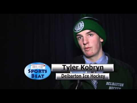 2 1 14 Catholic Memorial vs  Delbarton School Ice Hockey at Yankee Stadium