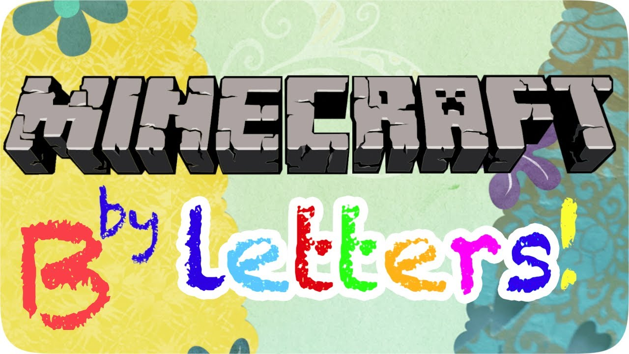 Minecraft How To Make Letter A