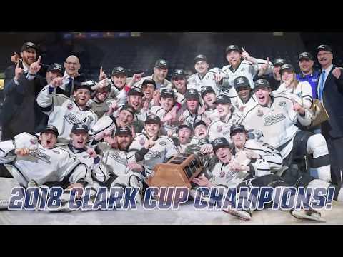 Fargo Force 2018 Clark Cup Champions