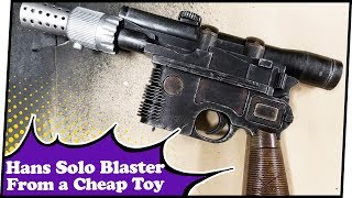 Rebel-ready DIY Han Solo Blaster | Nerdungeon