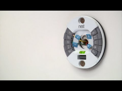 Installing the Nest Learning Thermostat - 2nd generation
