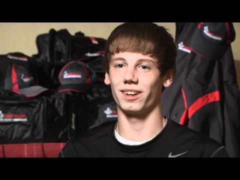 Jake Leingang before Foot Locker CC Champs 2011