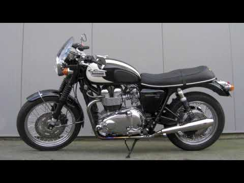 Triumph Bonneville T100 Video