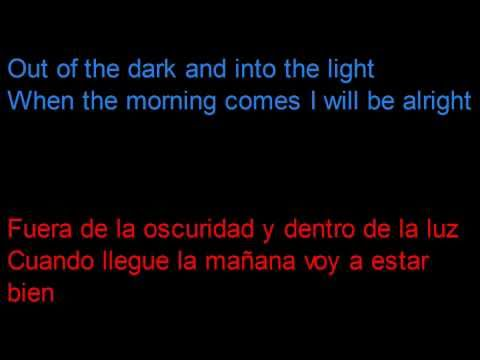 The Coral - In the Morning -  Letra en español y en inglés en la pantalla