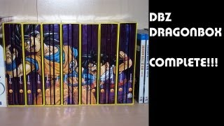 DBZ DragonBOX Collection Complete!!!