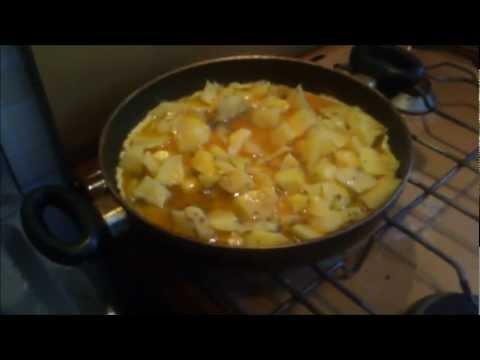 Cotto e Strancugghiato – Frittata di patate, uova e formaggio