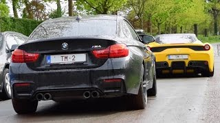 BMW M4 W/ M Performance Exhaust - Acceleration sounds!