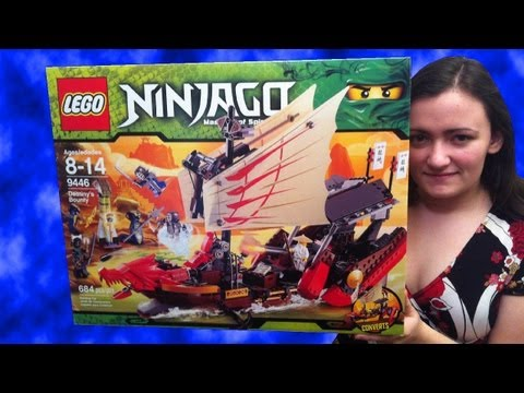 LEGO 9446 Destiny's Bounty LEGO Ninjago Ship Review