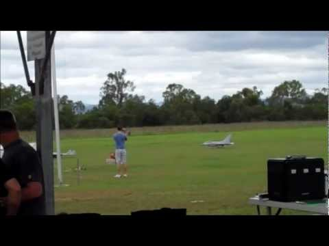 Model Aircraft Air Show - Radio Controlled Hobby Exhibition at Calvert, Queensland, Australia