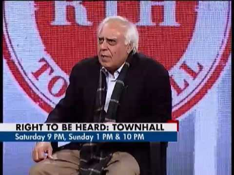 Right to be Heard - Delhi grills Kapil Sibal