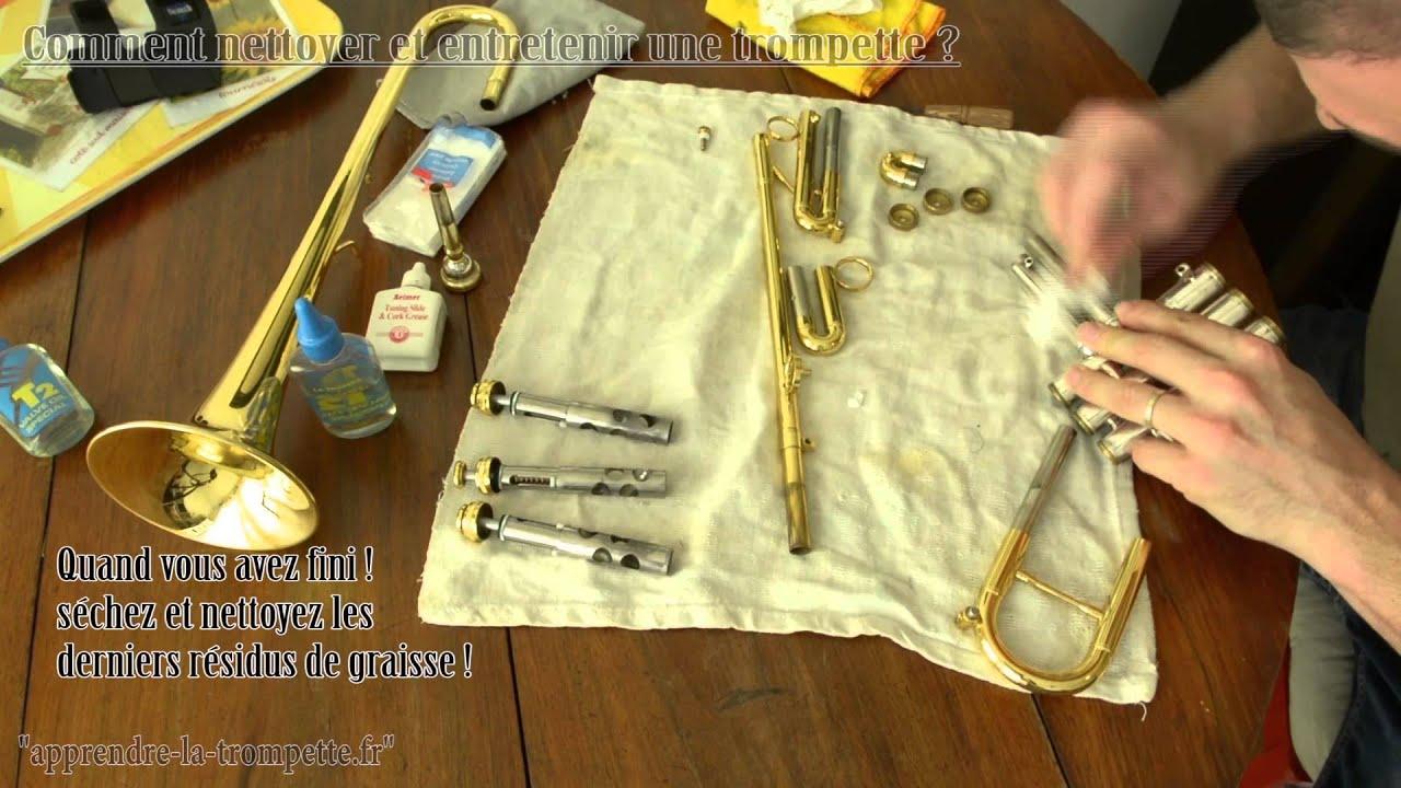 Comment nettoyer et entretenir sa trompette apprendre la trompette fr youtube - Comment nettoyer sa plancha ...