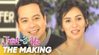 The Making | 'Just The 3 of Us' | John Lloyd Cruz, Jennylyn Mercado | Star Cinema