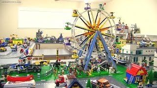 LEGO Creator Ferris Wheel & Fairground Mixer together!