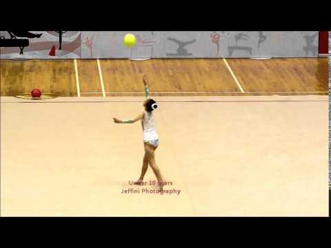 Jeffini Photography - 11th Singapore Rhythmic Gymnastics Open 2014 Under 10 years PT2