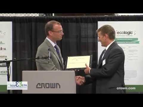 Ohio EPA Director Presents First Gold Level Environmental Excellence Award to Crown Equipment