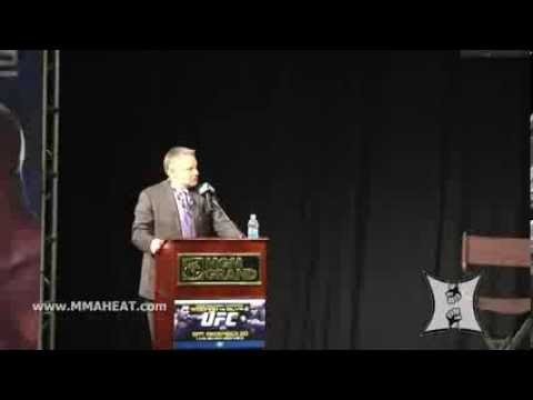 Dana White  Lorenzo Fertitta Unveil UFC Fight Pass LIVE Press Conference