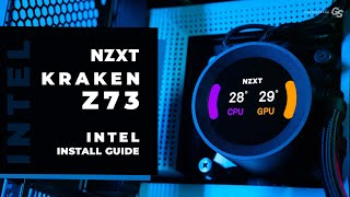 HOWTO Install NZXT Kraken Z73& Z63 on Intel Desktop/HEDT