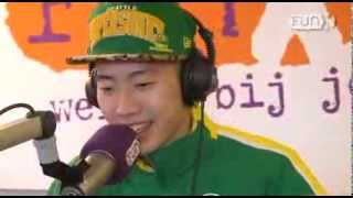 Jay Park freestyle in Amsterdam (in English and Korean)