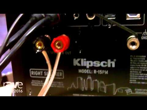 ISE 2016: Klipsch Exhibits R-15PM Powered Monitor