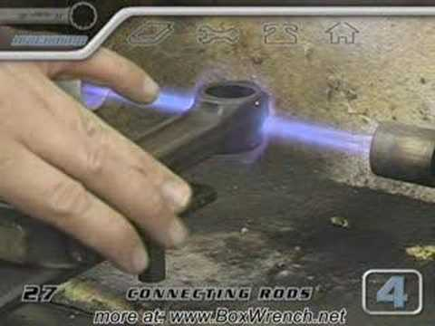 Connecting Rods Machine Shop Video-Engine Building DVD