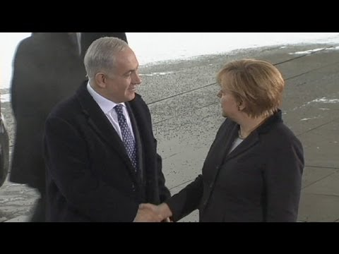 Merkel and Netanyahu 'agree to disagree' over settlements