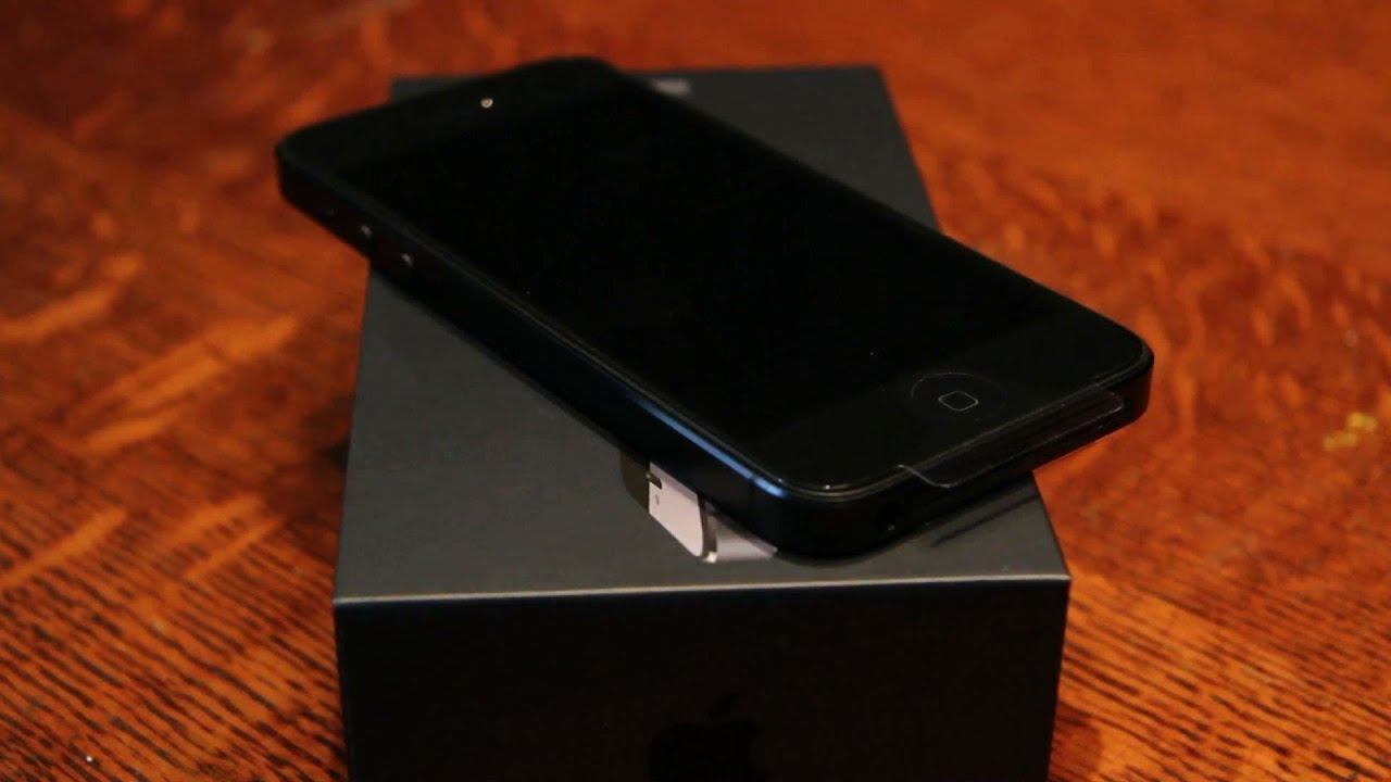 iPhone 5 Unboxi... Black