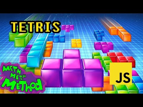 Write a Tetris game in JavaScript