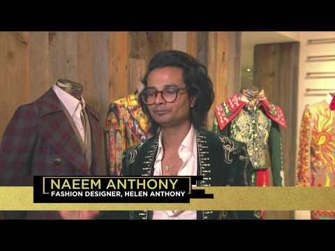 Top Billing visits fashion designer, Naeem Anthony in New York | FULL FEATURE