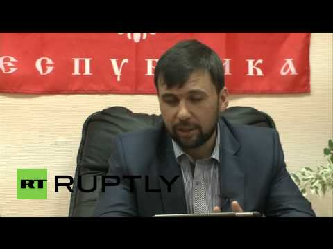 Ukraine: Donetsk leader Pushilin pushes ahead with referendum