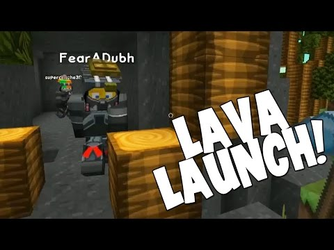 Minecraft - Mission To Mars - Lava Launch! [22]