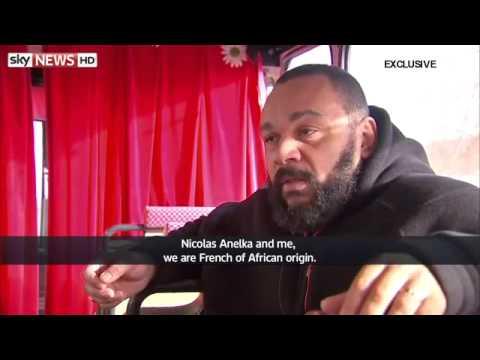 Dieudonné interviewé par Sky News - Complet-