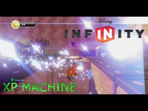 Disney Infinity - XP MACHINE! - UNLIMITED XP AND SPARKS!!! - Toy Box Creation