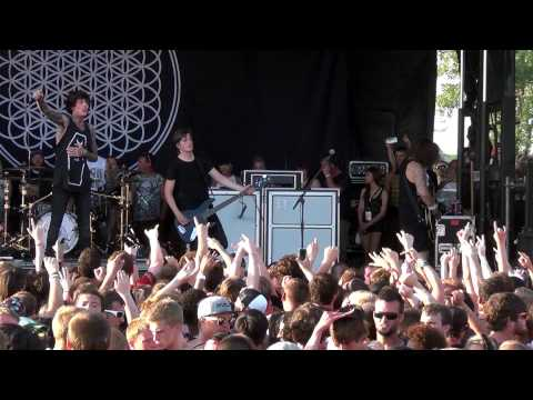 Bring Me The Horizon - Full Set Live At Warped Tour Chicago 2013 video